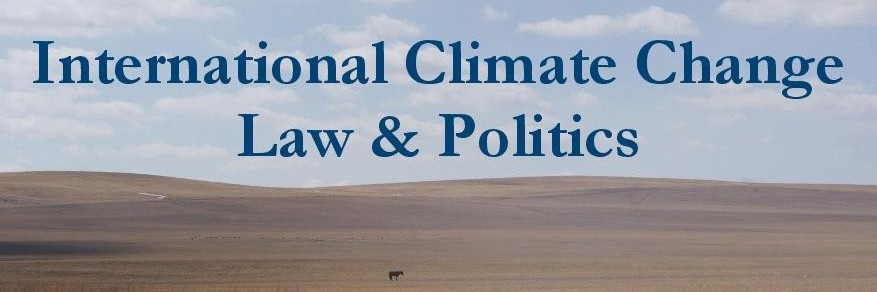 International Climate Change Law and Politics